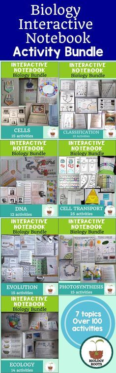 Tiffany simon simon4219 on pinterest biology interactive notebook bundle over 100 activities for your biology class interactive notebook fandeluxe Choice Image