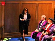 6/23/2005 Kate Middleton receiving her degree from the University of St Andrews - YouTube
