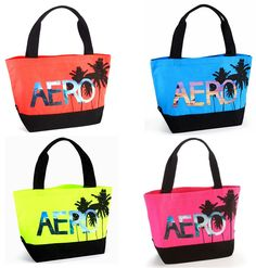 Aeropostale Palm Tree Totes