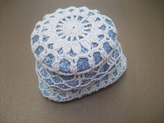 Crocheted Lace Stonesspringsummerwedding gift by MyDreamCrochets, $65.00