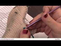 Embroidery: How to do the Crochet Chain Stitch - YouTube