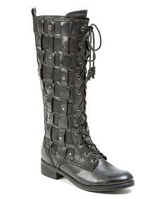 Loving this Black Apachee Boot on #zulily! #zulilyfinds
