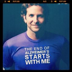 So much to <3 about this. Bradley Cooper and the reminder that November is Alzheimer's Awareness month. Please repin!
