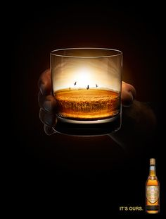 Powers Whiskey by Taylor James, via Behance