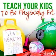Teach your kids to be physically fit with these simple ideas.  These healthy lifestyle tips are great for kids of all ages! OceanViewSwingSet AD