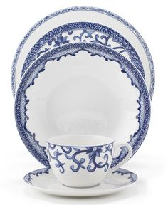 Ralph Lauren Mandarin Blue -- I love the tea cup. Pattern is like one on RL sheets, which is timeless.