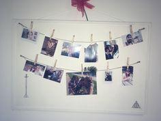 Family frame photo diy white girl table organisation