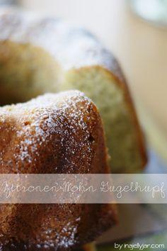 Zitronen-Mohn-Gugelhupf mit Ricotta #ichbacksmir #gugl