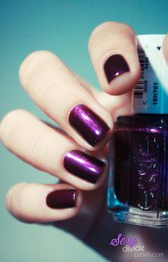 RARW! That's a hot purple! Essie Sexy Divide