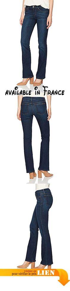 B072FN2XTW : Joe's Jeans the Provocateur Petite Mid-Rise In Nurie Jeans Bootcut Femme Bleu (Indigo Foncé) W30/L30.