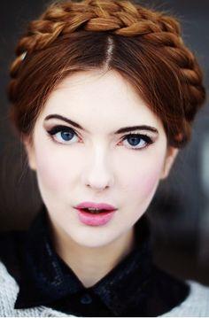 4 Elegant Braided Updo Hairstyles | Glam Bistro