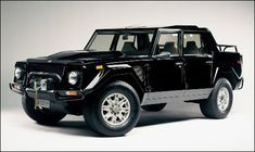 "Lamborghini LM002 also called the ""Rambo-Lambo"" (1986-1993)."
