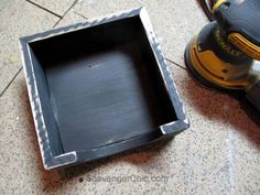 A friend of mine recently asked if I had ever made a napkin holder. Why no, I haven't, but it sounds like a fairly easy project and better yet, I could make one out of pallet wood and other scraps I … Continue Reading → Pallet Wood, Wood Pallets, Farmhouse Napkins, Wood Napkin Holder, Black Chalk Paint, We Have A Winner, Wood Glue, Paint Finishes, Spray Painting