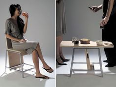 transforms into coffee table