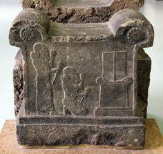 Altar de Tukulti-Ninurta I, 1246-1209 a. C. Período Neo-Asirio.