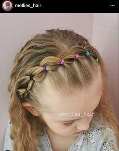 Cute Toddler Hairstyles, Cute Girls Hairstyles, Princess Hairstyles, Little Girl Hairdos, Girls Hairdos, Anna Hair, Hair Hacks, Hair Inspiration, Hair Beauty
