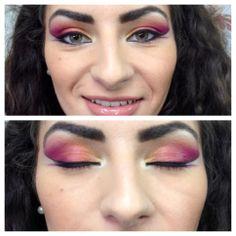 Arabian inspired make-up