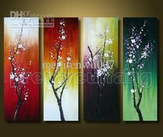 Beautiful Canvas Art Seasons Flower Oil Painting on Canvas picture from Xiamen Everfun Painting & Arts Co. view photo of Canvas Art, Flower Oil Painting, Flower Painting. Easy Flower Painting, Simple Oil Painting, Oil Painting For Beginners, Oil Painting Texture, Oil Painting Flowers, Oil Painting On Canvas, Canvas Art, Painting Clouds, Flower Paintings