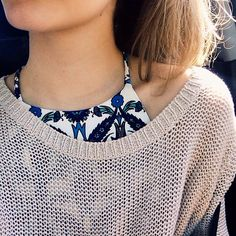 Love the patterned top