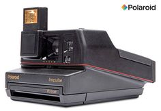 Polaroid® 600™ Impulse Camera @ Sharper Image Best Gifts For Her, Gifts For Him, Polaroid Original, Reflex Camera, Professional Camera, Printer Cartridge, Photo Printer, Hot Shoes, Taking Pictures