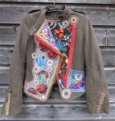 Clothes Crafts, Vera Bradley Backpack, Refashion, Plus Size Women, Sewing Ideas, Sweatshirts, Sweaters, Jackets, Denim