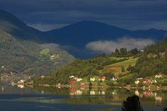 Early morning - Loen, Nordfjord, Norway by crowlem, via Flickr