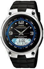 af014d31269 Casio Men s Black Resin Quartz Watch with Black Dial - articles price