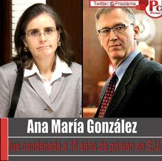 Ana María González, oncóloga payanesa, fue condenada a diez años de prisión. Los detalles:[http://www.proclamadelcauca.com/2014/09/ana-maria-gonzalez-fue-condenada-a-10-anos-de-prision-en-e-u.html]