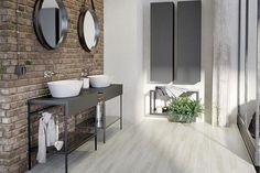 Konsola w łazience Bathroom Lighting, Vanity, Loft, Mirror, Furniture, Design, Home Decor, Concept, Google