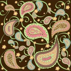 Not a paisley person but this is a new take on it.