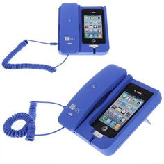 Actual iPhone charger that lets you answer an actual phone when it rings!