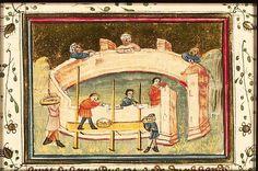 The Hague, KB, 78 D 38 II fol. 2v  Cyrus Cyrus has the temple of Jerusalem rebuilt