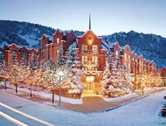 the st regis resort aspen is one of Luxury Hotel Experts 5 Star Hotels. Enter to find the best st regis resort in aspen Deals and Complimentary Amenities Aspen Colorado, Colorado Winter, Visit Colorado, Denver Colorado, Best Ski Resorts, Hotels And Resorts, Luxury Hotels, Luxury Travel, Winter Resorts