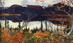Autumn Artwork By Helmer Osslund Oil Painting & Art Prints On Canvas For Sale Contemporary Landscape, Landscape Art, Landscape Paintings, Oil Paintings, Nordic Art, Scandinavian Art, Stockholm, Canadian Art, Art Prints For Sale
