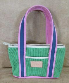 The Sak Gina tote green blue pink NWOT bag purse handbag and womens small #TheSak #Satchel