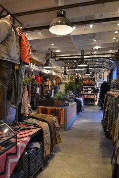 RRL.Visual merchandising. VM Retail store. Ralph Lauren.