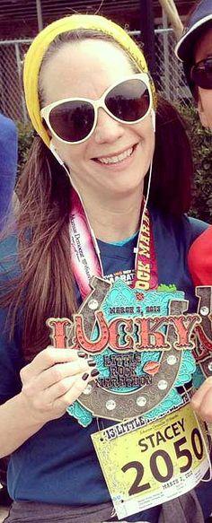 Little Rock Marathon Medal