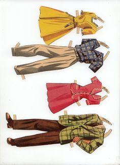 merrill 'first date' paper dolls 9