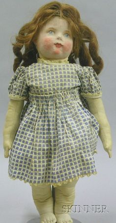 Cloth Art Doll | Sale Number 2419, Lot Number 1348 | Skinner Auctioneers