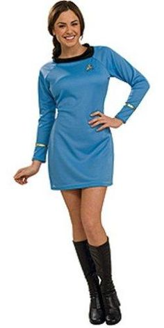 Blue And Gold Star Trek Outfits For Women | Star Trek Clothes ...