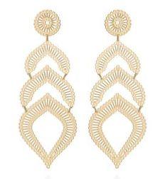 64 melhores imagens de Rommanel   Ear rings, Earrings e Flower power 01dbf12f89