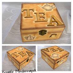 Teaásdoboz ( 4 fakkos) - Teabox