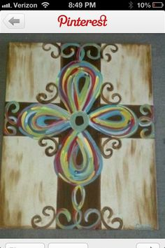 Canvas painting - I may have to try this one!