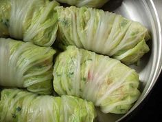 Hmong Steamed Cabbage Rolls