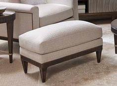Ottoman. Finish out your high-style living room or great room with the modern ottoman.