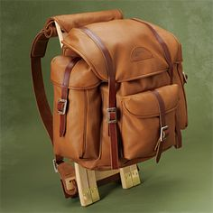 Handcrafted Reindeer leather Rucksack