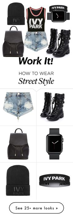 """Ivy Park x Street"" by taymoniq on Polyvore featuring Ivy Park, One Teaspoon, rag & bone and Topshop"