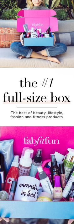 The FabFitFun Fall box is the best one yet! Get $10 off your first FabFitFun box with Code SRT10