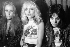 Lita Ford (The Runaways), Debbie Harry en Joan Jett