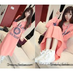 New Fashion Womens Ladies Long Sleeve Sweet Crew Neck Soild Hoodie Dress Size S | eBay